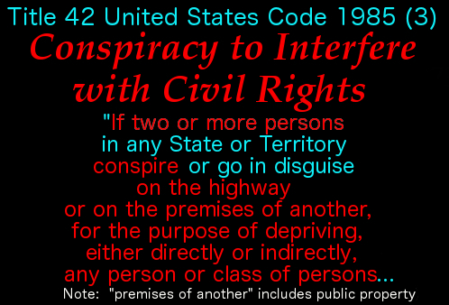 Conspiracy to Interfere w Civil Rights 1