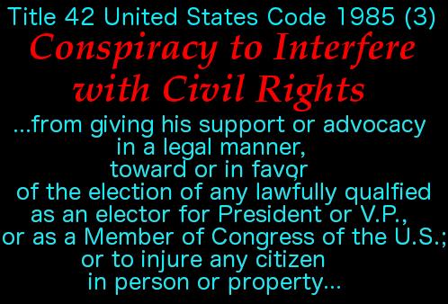 Conspiracy to Interfere w Civil Rights 4