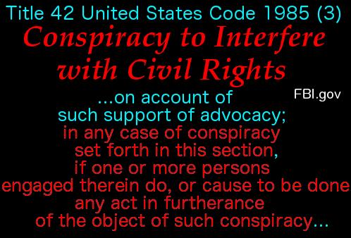 Conspiracy to Interfere w Civil Rights 5
