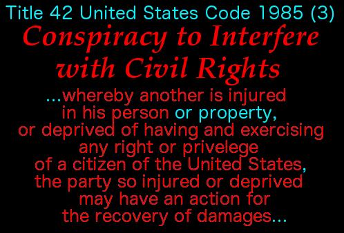 Conspiracy to Interfere w Civil Rights 6