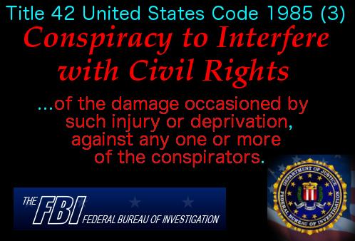 Conspiracy to Interfere w Civil Rights 7