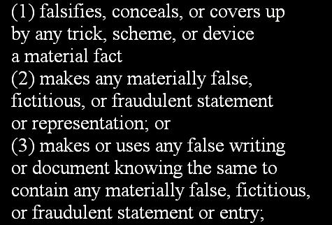 Fraudulent Statement 2