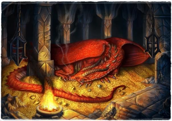 Smaug-el-dragon